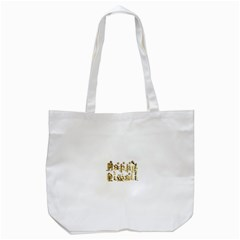 Happy Diwali Gold Golden Stars Star Festival Of Lights Deepavali Typography Tote Bag (white) by yoursparklingshop