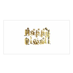 Happy Diwali Gold Golden Stars Star Festival Of Lights Deepavali Typography Satin Shawl by yoursparklingshop