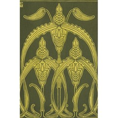 Art Nouveau Green 5 5  X 8 5  Notebooks by 8fugoso
