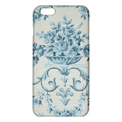 Blue Vintage Floral  Iphone 6 Plus/6s Plus Tpu Case by 8fugoso