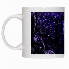 Beautiful Violet Spiral For Nocturne Of Scorpio White Mugs by beautifulfractals
