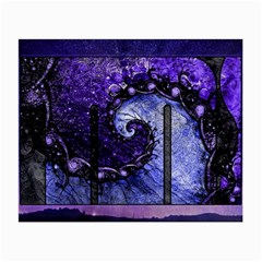 Beautiful Violet Spiral For Nocturne Of Scorpio Small Glasses Cloth by jayaprime