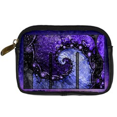 Beautiful Violet Spiral For Nocturne Of Scorpio Digital Camera Cases by jayaprime