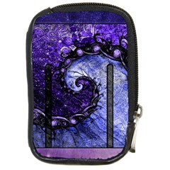 Beautiful Violet Spiral For Nocturne Of Scorpio Compact Camera Cases by jayaprime