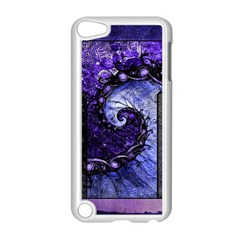Beautiful Violet Spiral For Nocturne Of Scorpio Apple Ipod Touch 5 Case (white) by jayaprime