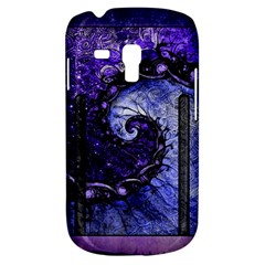 Beautiful Violet Spiral For Nocturne Of Scorpio Galaxy S3 Mini by jayaprime