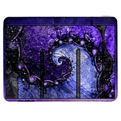 Beautiful Violet Spiral For Nocturne Of Scorpio Samsung Galaxy Tab 7  P1000 Flip Case by beautifulfractals