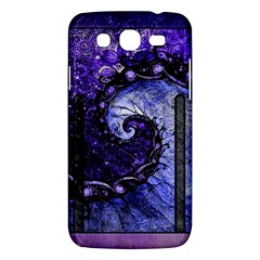 Beautiful Violet Spiral For Nocturne Of Scorpio Samsung Galaxy Mega 5 8 I9152 Hardshell Case  by beautifulfractals