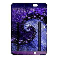 Beautiful Violet Spiral For Nocturne Of Scorpio Kindle Fire Hdx 8 9  Hardshell Case by jayaprime
