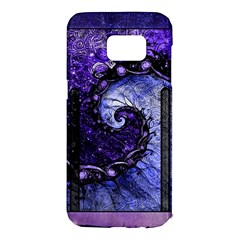 Beautiful Violet Spiral For Nocturne Of Scorpio Samsung Galaxy S7 Edge Hardshell Case