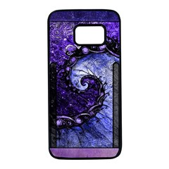 Beautiful Violet Spiral For Nocturne Of Scorpio Samsung Galaxy S7 Black Seamless Case by jayaprime