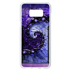 Beautiful Violet Spiral For Nocturne Of Scorpio Samsung Galaxy S8 Plus White Seamless Case