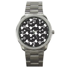 Bones Bg Sport Metal Watch by AllOverIt