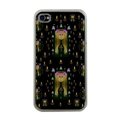 Queen In The Darkest Of Nights Apple Iphone 4 Case (clear) by pepitasart
