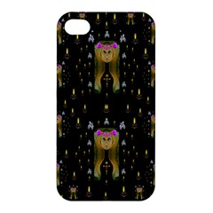 Queen In The Darkest Of Nights Apple Iphone 4/4s Hardshell Case by pepitasart