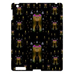 Queen In The Darkest Of Nights Apple Ipad 3/4 Hardshell Case by pepitasart
