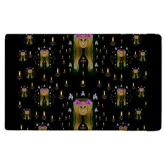 Queen In The Darkest Of Nights Apple Ipad 3/4 Flip Case by pepitasart