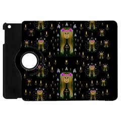 Queen In The Darkest Of Nights Apple Ipad Mini Flip 360 Case by pepitasart