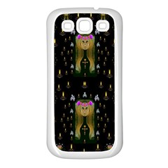 Queen In The Darkest Of Nights Samsung Galaxy S3 Back Case (white) by pepitasart