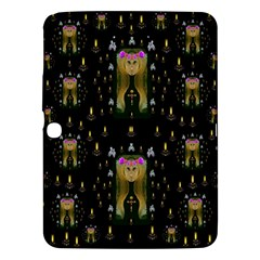 Queen In The Darkest Of Nights Samsung Galaxy Tab 3 (10 1 ) P5200 Hardshell Case  by pepitasart