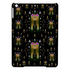 Queen In The Darkest Of Nights Ipad Air Hardshell Cases by pepitasart