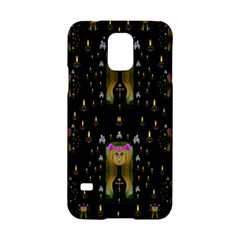 Queen In The Darkest Of Nights Samsung Galaxy S5 Hardshell Case  by pepitasart