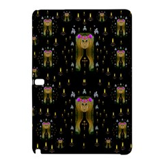 Queen In The Darkest Of Nights Samsung Galaxy Tab Pro 12 2 Hardshell Case by pepitasart