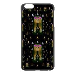 Queen In The Darkest Of Nights Apple Iphone 6 Plus/6s Plus Black Enamel Case by pepitasart