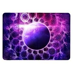 Beautiful Violet Nasa Deep Dream Fractal Mandala Samsung Galaxy Tab 8 9  P7300 Flip Case by beautifulfractals