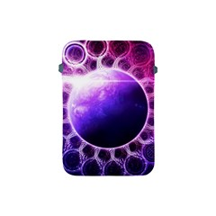 Beautiful Violet Nasa Deep Dream Fractal Mandala Apple Ipad Mini Protective Soft Cases by jayaprime