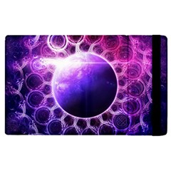 Beautiful Violet Nasa Deep Dream Fractal Mandala Apple Ipad Pro 9 7   Flip Case by jayaprime