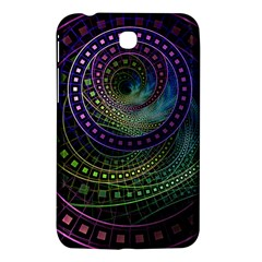 Oz The Great With Technicolor Fractal Rainbow Samsung Galaxy Tab 3 (7 ) P3200 Hardshell Case  by jayaprime