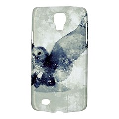 Cute Owl In Watercolor Galaxy S4 Active by FantasyWorld7