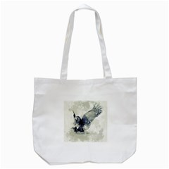 Cute Owl In Watercolor Tote Bag (white) by FantasyWorld7