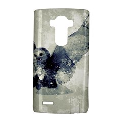 Cute Owl In Watercolor Lg G4 Hardshell Case by FantasyWorld7