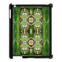 Bread Sticks And Fantasy Flowers In A Rainbow Apple Ipad 3/4 Case (black) by pepitasart