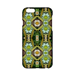 Bread Sticks And Fantasy Flowers In A Rainbow Apple Iphone 6/6s Hardshell Case by pepitasart