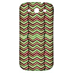 Zig Zag Multicolored Ethnic Pattern Samsung Galaxy S3 S Iii Classic Hardshell Back Case by dflcprintsclothing