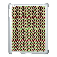 Zig Zag Multicolored Ethnic Pattern Apple Ipad 3/4 Case (white) by dflcprintsclothing