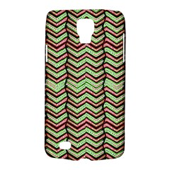 Zig Zag Multicolored Ethnic Pattern Galaxy S4 Active by dflcprintsclothing