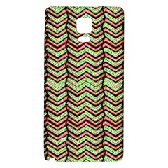 Zig Zag Multicolored Ethnic Pattern Galaxy Note 4 Back Case by dflcprintsclothing
