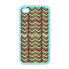 Zig Zag Multicolored Ethnic Pattern Apple Iphone 4 Case (color) by dflcprintsclothing