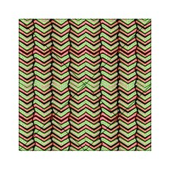 Zig Zag Multicolored Ethnic Pattern Acrylic Tangram Puzzle (6  X 6 ) by dflcprintsclothing