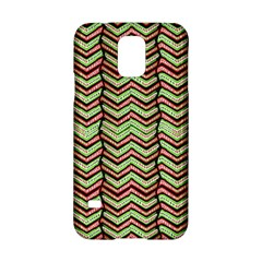 Zig Zag Multicolored Ethnic Pattern Samsung Galaxy S5 Hardshell Case  by dflcprintsclothing