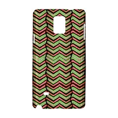 Zig Zag Multicolored Ethnic Pattern Samsung Galaxy Note 4 Hardshell Case by dflcprintsclothing