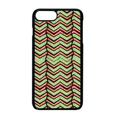 Zig Zag Multicolored Ethnic Pattern Apple Iphone 7 Plus Seamless Case (black) by dflcprintsclothing