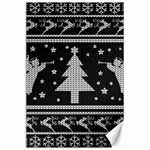Ugly Christmas Sweater Canvas 24  x 36  36 x24 Canvas - 1