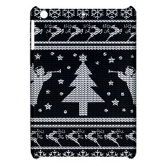 Ugly Christmas Sweater Apple Ipad Mini Hardshell Case by Valentinaart