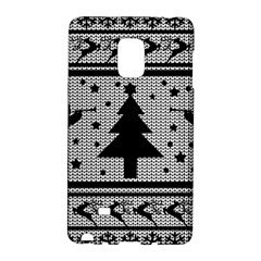 Ugly Christmas Sweater Galaxy Note Edge by Valentinaart