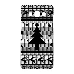 Ugly Christmas Sweater Samsung Galaxy A5 Hardshell Case  by Valentinaart